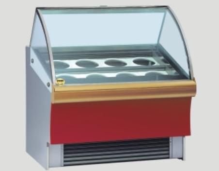 Ice-cream display